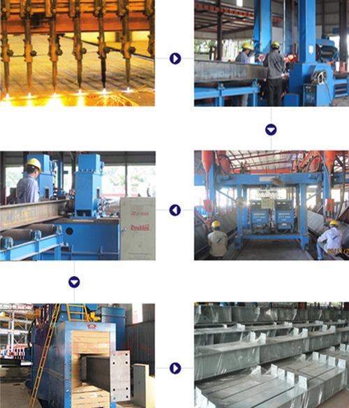 quy trình sản xuất thép tiền chế